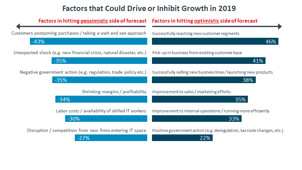 Factors that Could Drive or Inhibit Growth in 2019